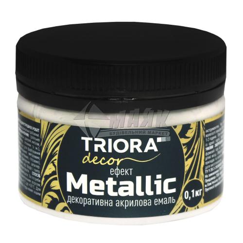 Фарба декоративна TRIORA Metallic 0,1 кг 927 хамелеон