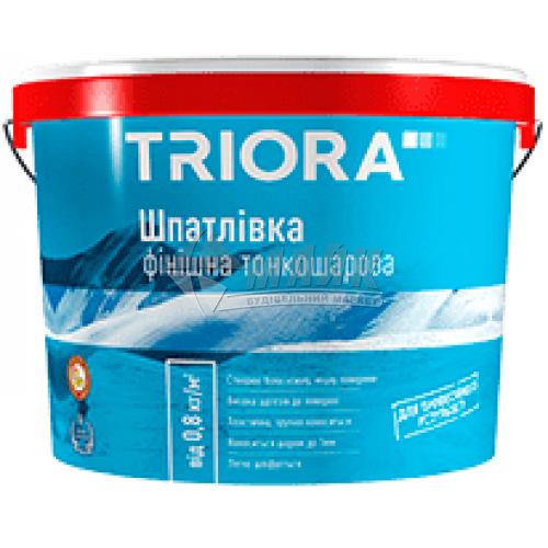 Шпаклівка акрилова TRIORA фінішна інтер'єрна 16 кг