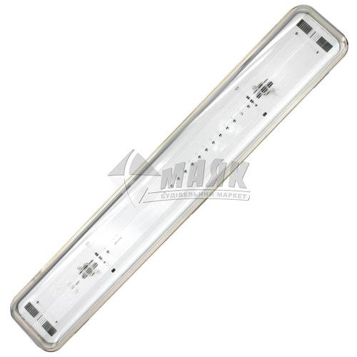 Світильник під LED лампи 2×18Вт IP65