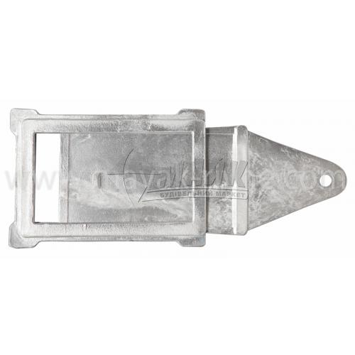 Шибер (заслонка) алюмінієвий ША-3 420×275×200 мм 1,16 кг
