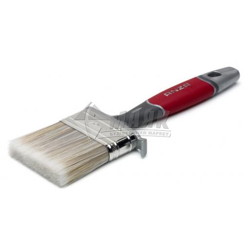 Пензель ANZA Elite 70 мм пластикова ручка