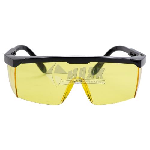 Окуляри захисні SIGMA Fitter жовті