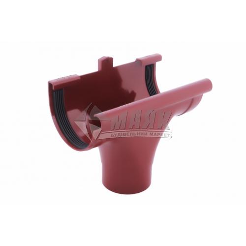 Лійка (воронка) пластикова прохідна Profil 90/75 червона