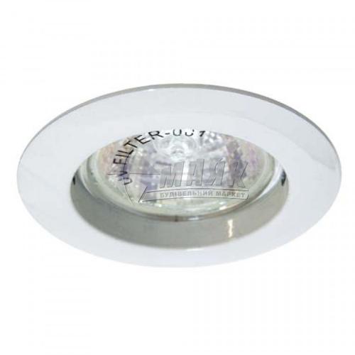 Світильник точковий вбудований Feron DL307 МR16 GU5.3/G5.3 білий