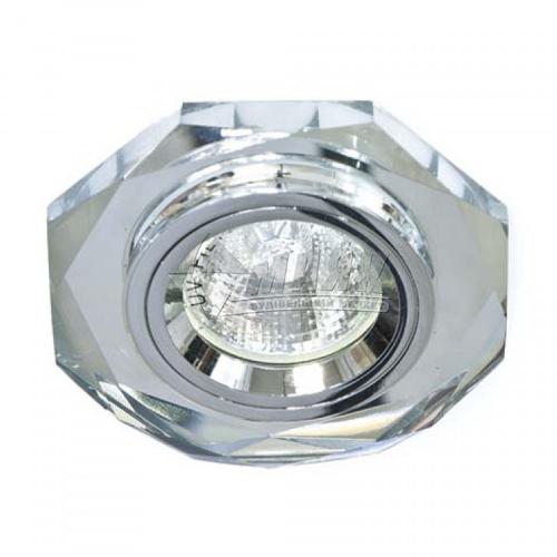 Світильник точковий вбудований Feron 8170-2 (CD3003) МR16 GU5.3/G5.3 срібло-срібло