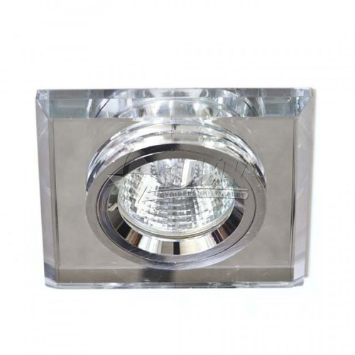 Світильник точковий вбудований Feron 8170-2 (CD3006) МR16 GU5.3/G5.3 срібло-срібло
