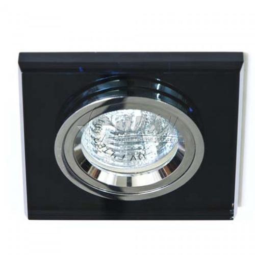 Світильник точковий вбудований Feron 8170-2 (CD3011) МR16 GU5.3/G5.3 сірий-срібло