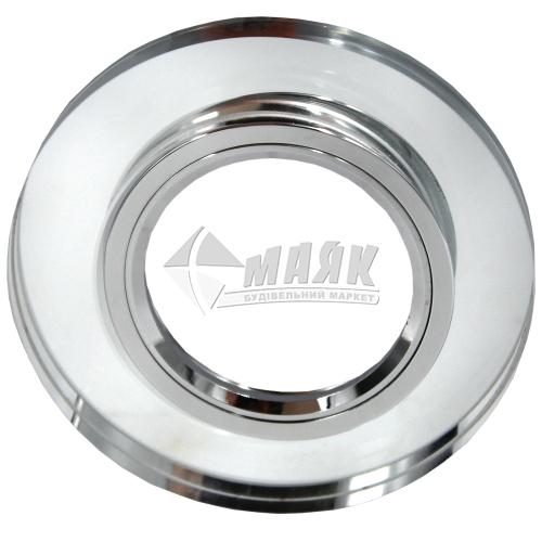 Світильник точковий вбудований Feron 8060-2 (CD3004) МR16 GU5.3/G5.3 срібло-срібло
