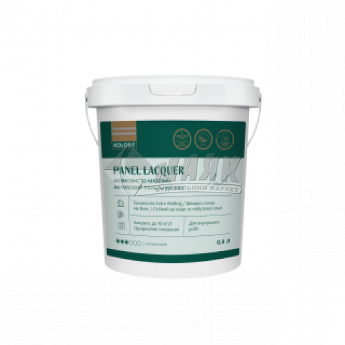 Лак панельний Kolorit Panel Lacquer акриловий для внутрішніх робіт 2 л шовковисто-матовий