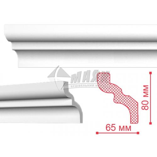 Плінтус стельовий декоративний NMC C Nomastyl 80×65×2000 мм