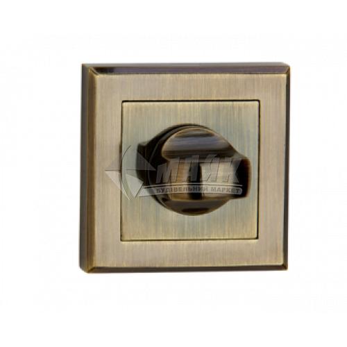 Фіксатор квадратний MVM WC T7 AB стара бронза