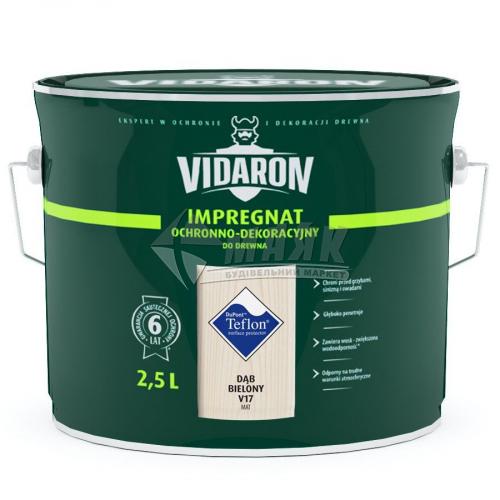 Захист для деревини Vidaron Impregnat 4в1 V17 2,5 л вибілений дуб