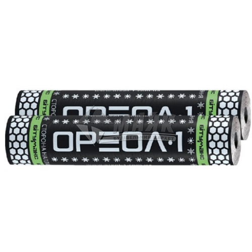 Євроруберойд Ореол-1 Бітумакс ХКП 4,0 склохолст 10 кв.м з посипкою базальт