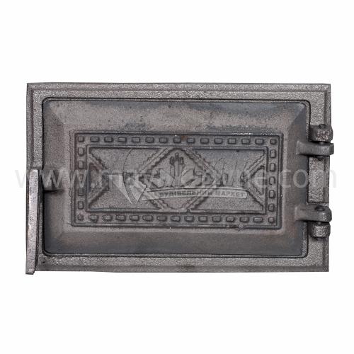 Дверцята піддувні Булат Вишиванка 265×165 мм 3,48 кг