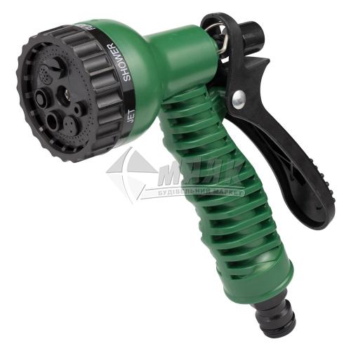 Пістолет-розпилювач пластиковий Grad 7 режимів ABS