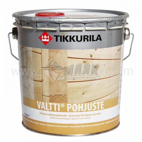Ґрунтовка для деревини Tikkurila Valtti Primer для зовнішніх робіт 2,7 л