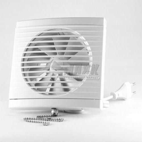 Вентилятор витяжний DOSPEL PLAY Classic 100 WP з вимикачем 147×147 мм