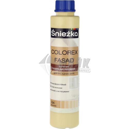 Барвник Sniezka Colorex Fasad 0,75 л 164 кремовий