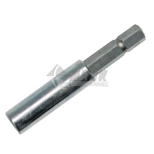 Тримач магнітний для біт VOREL 60 мм