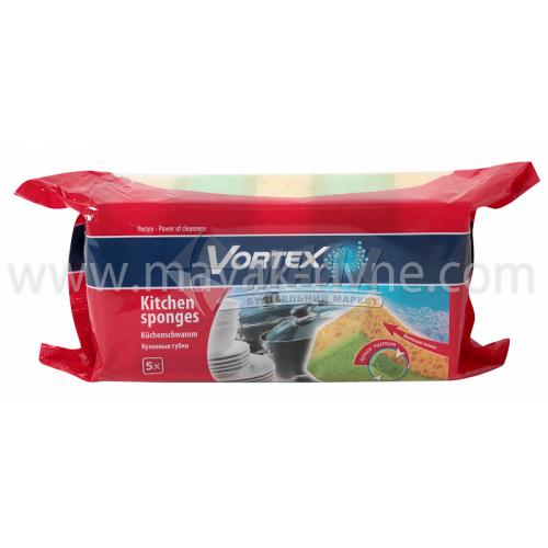 Губка кухонна Vortex 5 шт