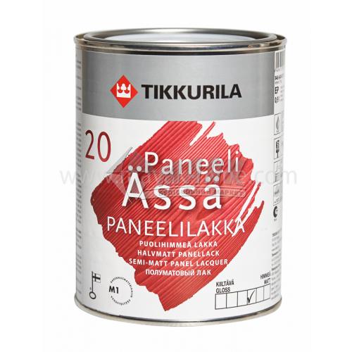 Лак панельний Tikkurila Paneeli Assa акриловий для внутрішніх робіт 0,9 л напівматовий